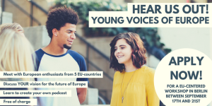 Hear us out – Young voices of Europe